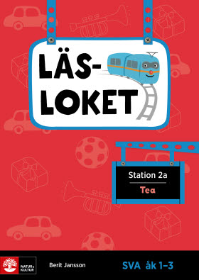 Läsloket åk 1-3 Station 2a Tea
