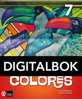 Colores 7 Textbok Digital, andra upplagan