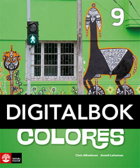 Colores 9 Textbok Digital, andra upplagan